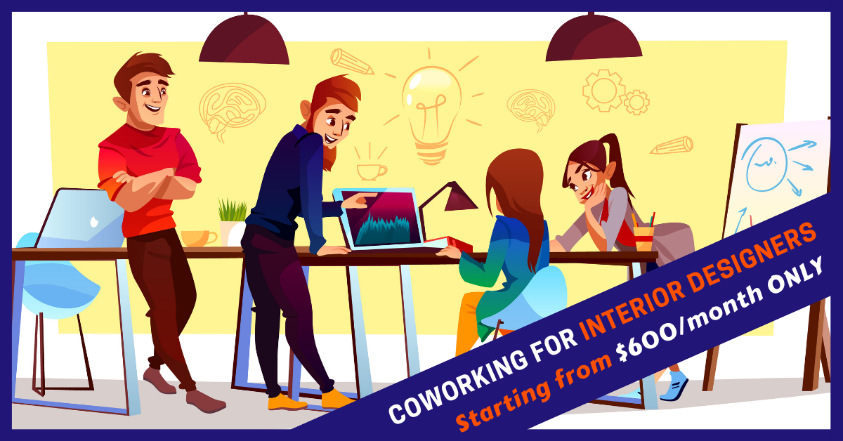 coworking space for interior designers